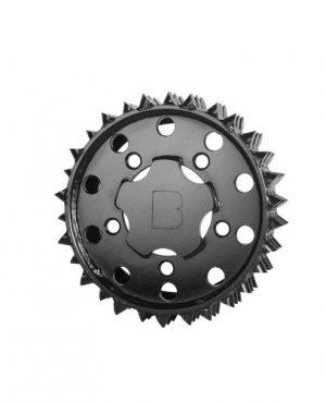 Outer feed roller H415 Black Bruin 27mm RH