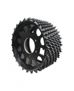 Feed roller 370/370.1/370.2 POC 28mm RH (BM000670)