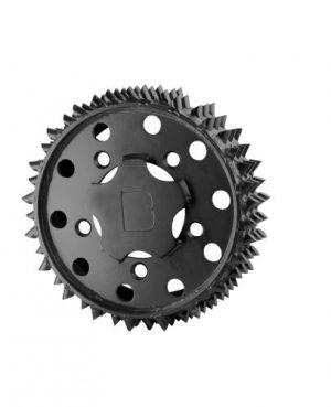 Outer feed roller H415 Black Bruin 28mm RH (BM001126)